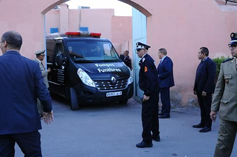 نقل جثماني ضحيتي العملية الإرهابية بمنطقة شمهروش بامليل تحت حراسة أمنية مشددة