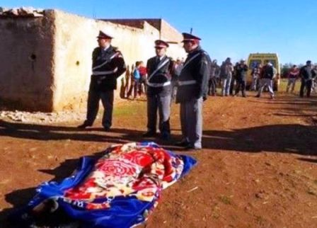 اعتقال المتهم بذبح إمرأة بواد إفران