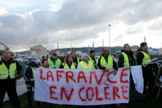 """فرنسا… إضراب وطني بمشاركة محتجي """"السترات الصفراء"""""""