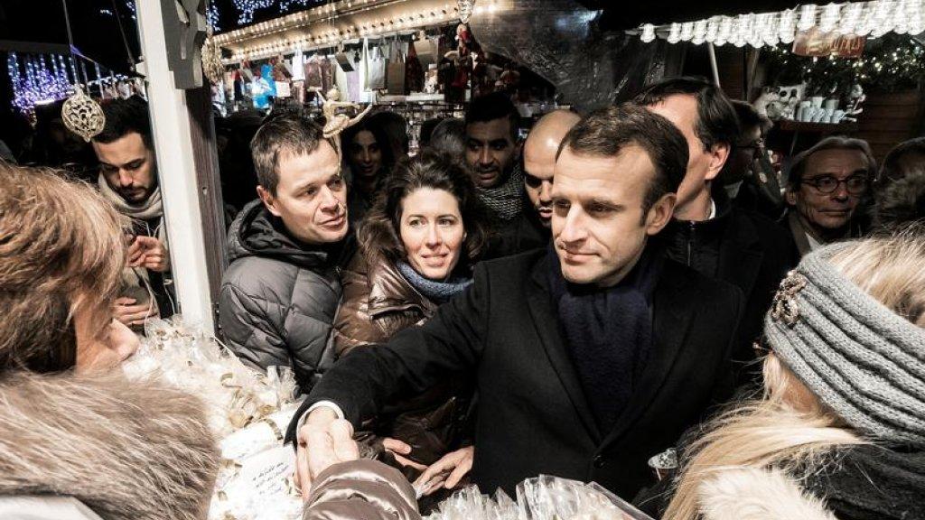 استطلاع: تراجع شعبية الرئيس الفرنسي إلى 23 % في دجنبر