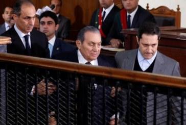 مبارك في مواجهة مع مرسي للمرة الأولى منذ ثورة يناير 2011