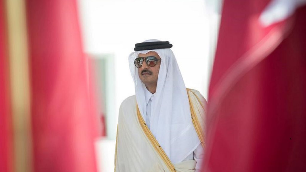 دعوة لأمير قطر من العاهل السعودي لقمة مجلس التعاون الخليجي