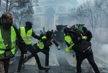 """صدامات بين """"السترات الصفراء"""" والأمن في باريس"""