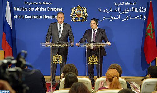 """المغرب وروسيا..شراكة استراتيجية أرست أسسا متينة لتطوير العلاقات """"القوية جدا"""" بين البلدين"""