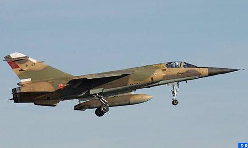 """تحطم طائرة من طراز """"ميراج إف 1"""" تابعة للقوات الملكية الجوية"""