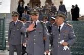 الجنرال دكوردارمي عبد الفتاح الوراق بالجدار الأمني