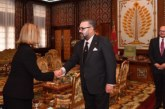 الملك محمد السادس يستقبل فيديريكا موغيريني بالرباط