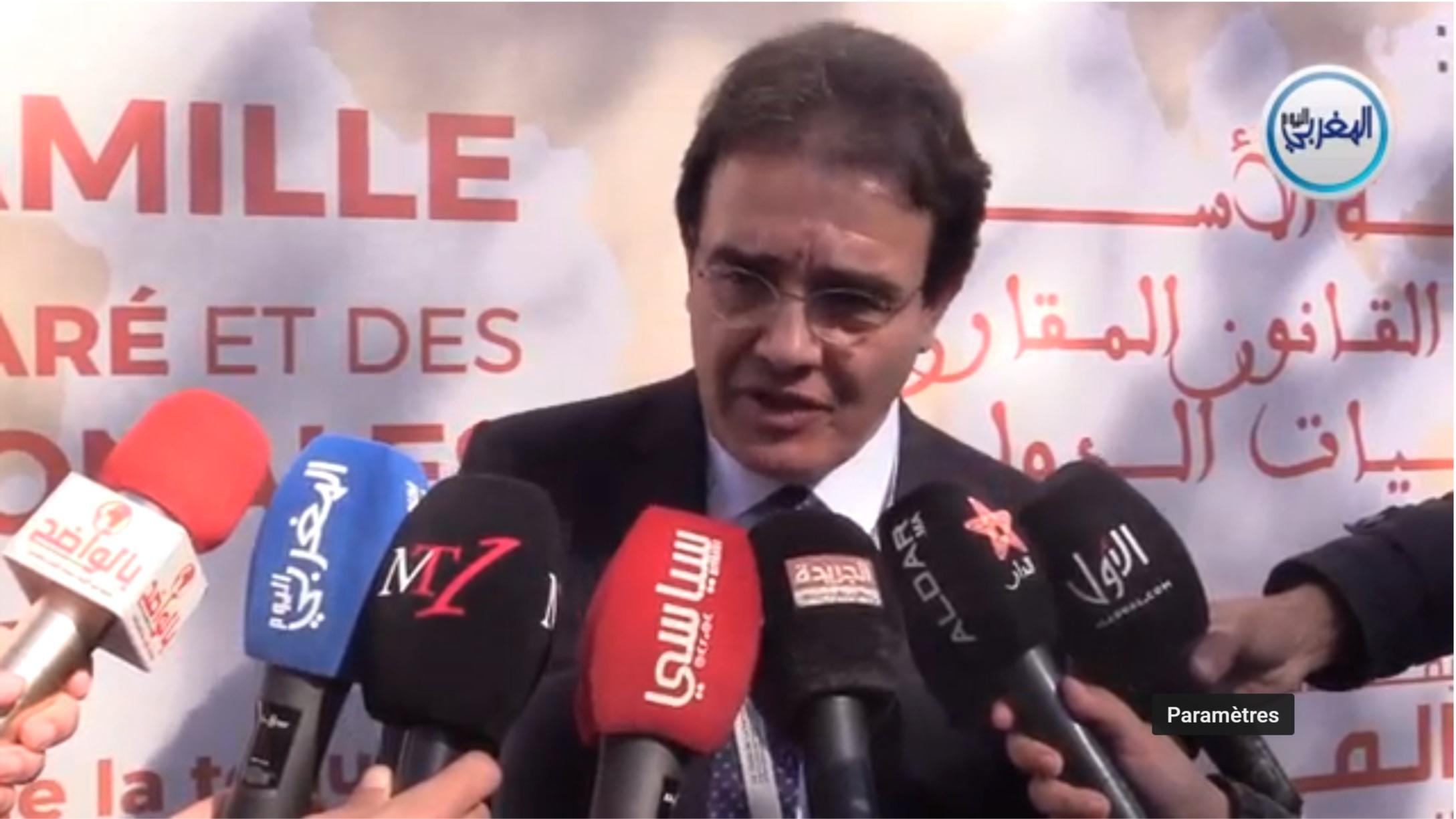 بالفيديو… الوزير بنعتيق في حضرة الصحافيين بمراكش على هامش المنتدى الثالث للمحامين المغاربة المقيمين بالخارج