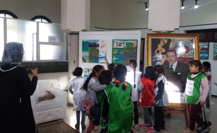 جمعية بصمات للفنون الجميلة تنظم معرضا للوحات المنجزة من قبل 365 طفل