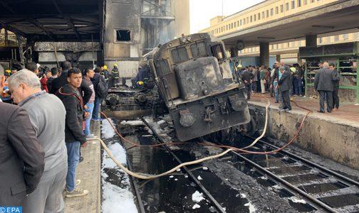 ارتفاع ضحايا حادث حريق بالمحطة الرئيسية للقطارات بالقاهرة إلى 25 شخصا وإصابة 50 آخرين