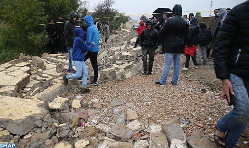 مصرع تلميذين في انهيار سور مؤسسة تعليمية بفاس