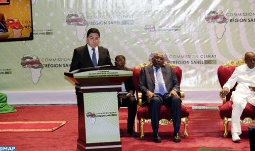 الملك يوجه خطابا إلى المؤتمر الأول للجنة المناخ الخاصة بمنطقة الساحل