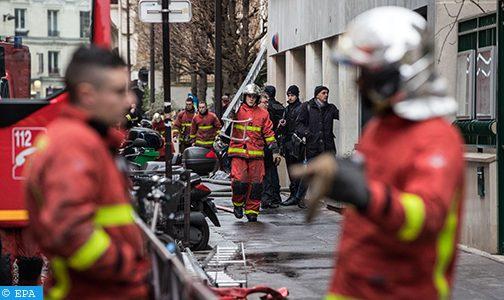 ارتفاع حصيلة ضحايا حريق بمبنى سكني بباريس الى ثماينة قتلى