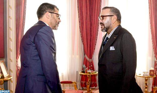 الملك يستقبل المدير العام الجديد لصندوق إثمار الموارد