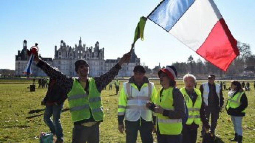 """فرنسا: 11 ألف متظاهر في الأسبوع الخامس عشر لمحتجي """"السترات الصفراء"""""""