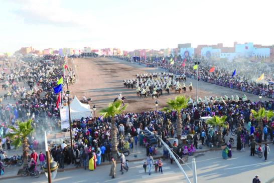 موسم روابط الرحامنة… إبراز للموروث الشعبي والموروث الثقافي بين منطقة الرحامنة والصحراء