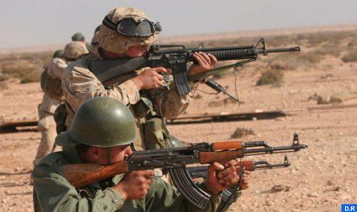 """تنظيم تدريب عسكري مشترك مغربي- أمريكي """"أفريكان ليون 2019"""""""