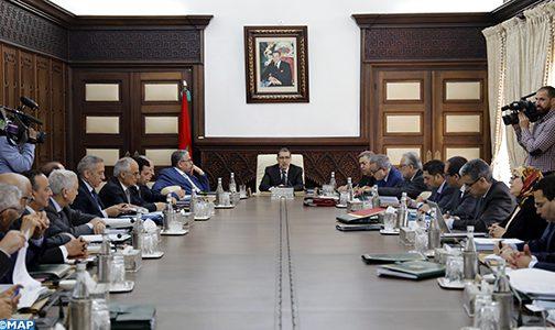 مجلس الحكومة يصادق على مشروع مرسوم يقضي بدعوة المجلسين لعقد دورة استثنائية