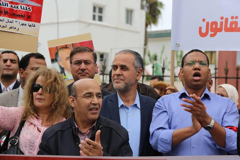 لن نسلمكم زملائنا وزميلتنا… الجسم الصحافي المغربي يتوحد في مواجهة بنشماس