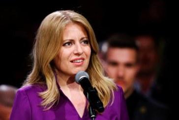 تشابوتوفا أول امرأة تتولى منصب رئاسة سلوفاكيا