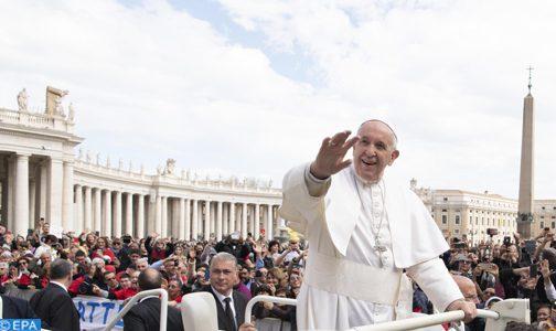 قداسة البابا فرانسيس يحل بالمغرب في زيارة رسمية للمملكة