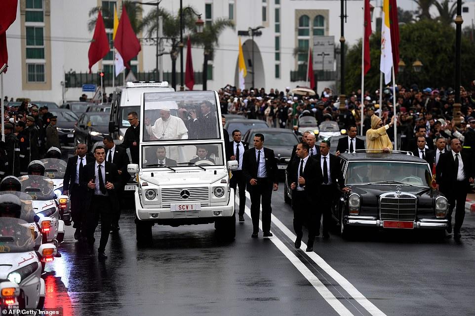 زيارة البابا فرانسيس… الأمن المغربي كان في الموعد وسيظل