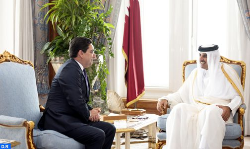 بعد رسائله للسعودية والإمارات والبحرين الملك محمد السادس يراسل أمير قطر