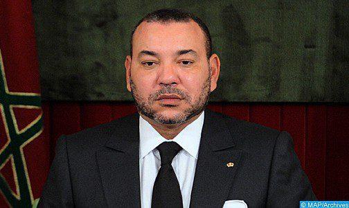 الملك يعرب للرئيس الفرنسي عن دعم المغرب وتضامنه مع فرنسا على إثر الحريق الذي اندلع في كاتدرائية نوتردام