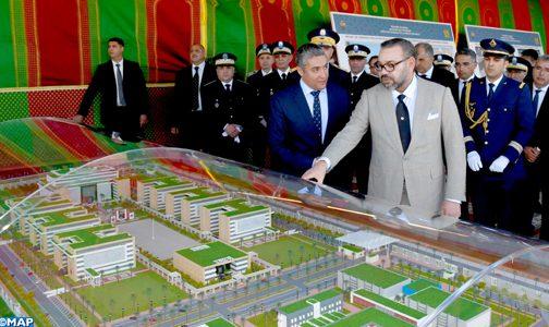 الملك يعطي انطلاقة أشغال إنجاز المقر الجديد للمديرية العامة للأمن الوطني بالرباط