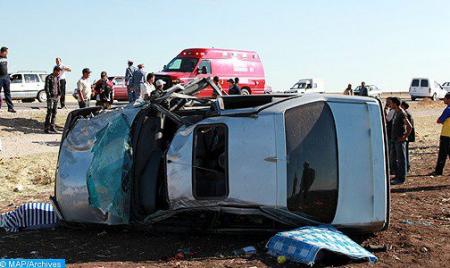 8 قتلى و30 جريحا في حادثة سير على مستوى جماعة مولاي بوسلهام بإقليم القنيطرة