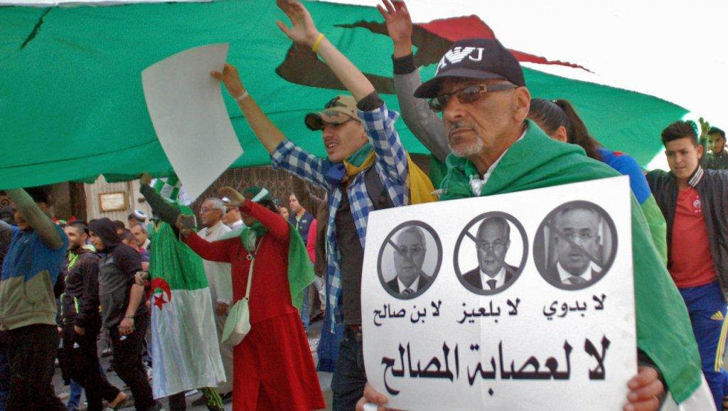الجزائريون يتظاهرون للجمعة العاشرة للمطالبة بتصفية تركة بوتفليقة