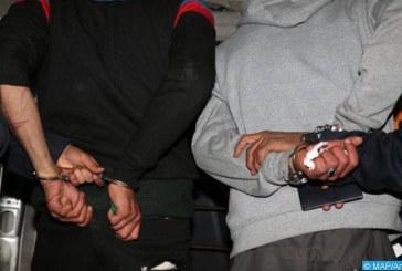 الرباط… إيقاف شخصين متهمين في قضية تتعلق بالحيازة والاتجار في المخدرات