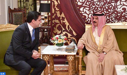 رسالة من الملك إلى عاهل مملكة البحرين