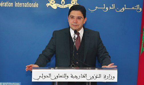 """بوريطة يؤكد الأهمية """"الخاصة"""" التي يكتسيها القرار رقم 2468 حول الصحراء الذي صادق عليه مجلس الأمن"""