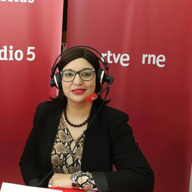المغربية والفاعلة السياسية في إسبانيا صباح يعقوبي أول ملاحظة مغربية في الانتخابات الاسبانية