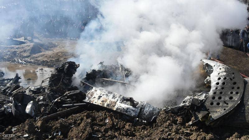 حادث جديد… سقوط طائرة عسكرية جزائرية جنوبي البلاد