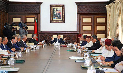 مجلس الحكومة يصادق على مشروع مرسوم بشأن النظام الأساسي الخاص بموظفي الأمن الوطني