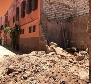كابوس انهيار المنازل يزرع الرعب بساكنة المدينة العتيقة بمراكش