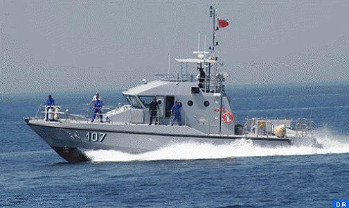 البحرية الملكية تنقذ 3 زوارق على متنها 117 مرشحا للهجرة السرية