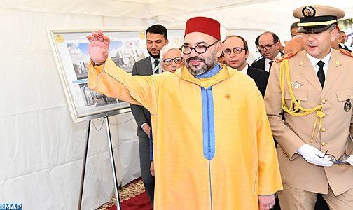 """الملك يعطي انطلاقة أشغال إنجاز """"مركز طبي للقرب -مؤسسة محمد الخامس للتضامن"""" بحي كريمة بسلا"""
