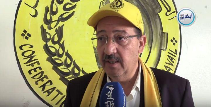 بالفيديو… هوير العلمي يهاجم حكومة العثماني بمناسبة فاتح ماي