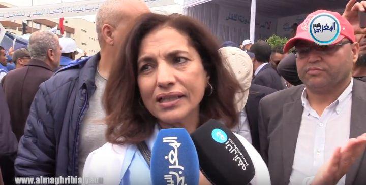 بالفيديو… آمال العمري تكشف سر توقيع UMT على الاتفاق الاجتماعي الجديد