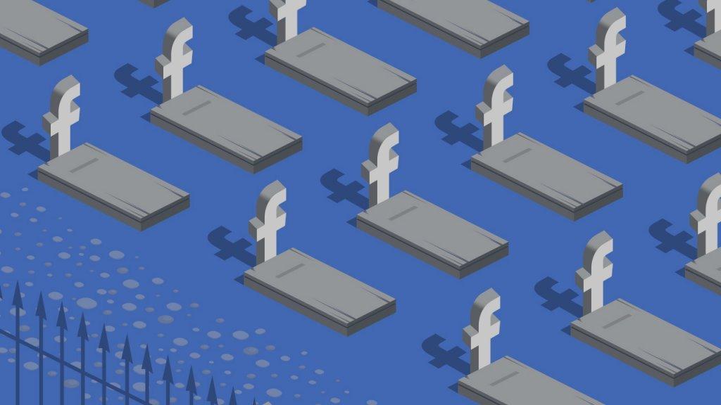 المقبرة الرقمية… يوم سيسيطر الأموات على فيس بوك