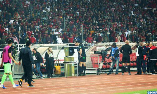 الجامعة الملكية المغربية لكرة القدم تحتج على تحكيم مباراة الوداد والترجي برسم ذهاب نهاية عصبة أبطال إفريقيا