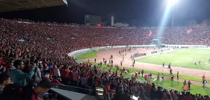 الوداد البيضاوي يتوج بلقب الدوري المغربي ويضيف لرصيده اللقب العشرين والنجمة الثانية