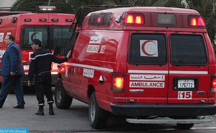 15 مصابا بحادث انقلاب حافلة بطريق الدار البيضاء  في ثاني أيام العيد