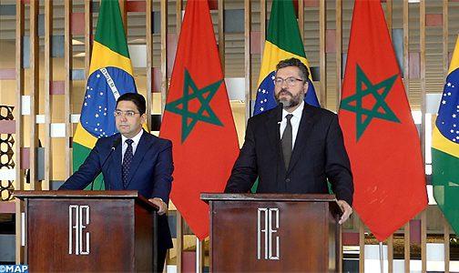 البرازيل تدعم المغرب بقوة في ملف وحدته الترابية
