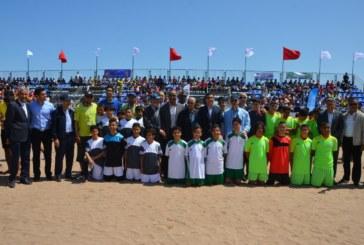 الجديدة تحتضن حفل إختتام الدوري الجهوي الاول لكرة القدم الشاطئية