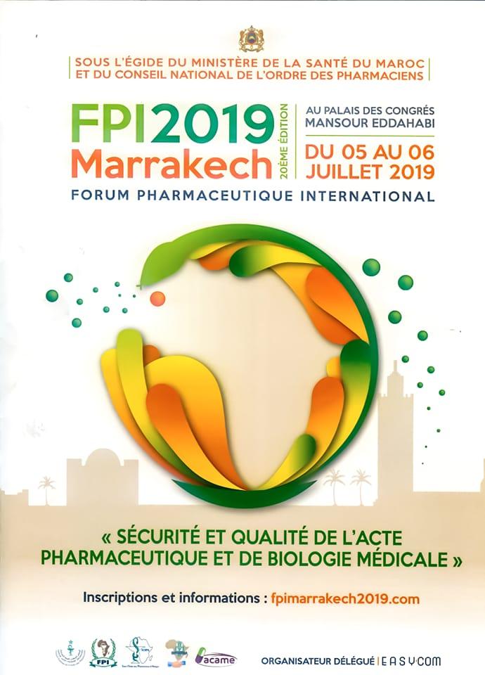 مراكش تستعد لاستقبال خبراء 25 دولة في مجال الأدوية والصيدلة والصحة