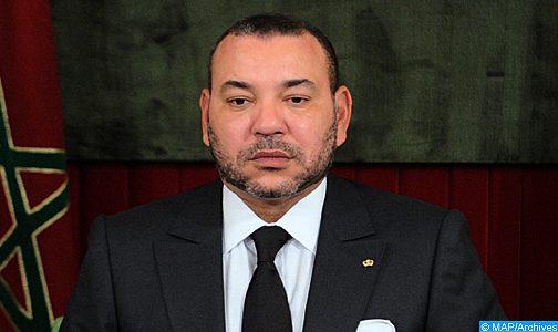 الملك يعبر عن استتنكاره وإدانته الشديدة للاعتداءات الإرهابية المقيتة التي استهدفت تونس